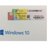 Wholesale Microsoft Windows 10 Pro Pack 32 Bit Or 64 Bit Retail Box Genuine Key from china suppliers