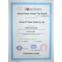 China XF Poker Cheat Co ., Ltd. Certifications