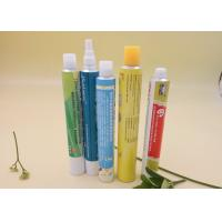 Wholesale Six Color Printing Aluminum Packaging Tubes , Pharmaceutical Cream Squeeze Tube from china suppliers