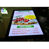 Wholesale 24 X 36 Picture Frame Led Light Box Panels For Menu Board , High Brightness from china suppliers