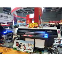 Wholesale 120*80cm Small and High-Performance UV Flatbed Printer for any Rigid Flat Mateterial like Glass,Ceramics,PVC Board from china suppliers