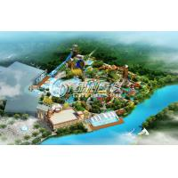 Wholesale Professional Giant Water Park Conceptual Design , Customized outdoor water park resorts from china suppliers