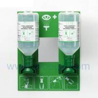 Wholesale SH4694-eye wash solution,Plum eye wash Station with 2 bottles from china suppliers