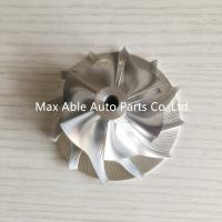 Wholesale CT26 49.2X71mm 6+6 blades Turbocharger Billet compressor wheel for TOYOTA from china suppliers