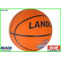 Wholesale Customized Orange Vulcanized Rubber Basketballs With Logo Printed from china suppliers