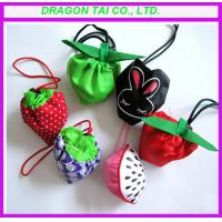 Wholesale Fruit shaped foldable shopping bag, drawstring bag from china suppliers