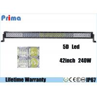 """Wholesale 42"""" 240W Off Road LED Light Bar, High Lumen Waterproof 5D LED Light Bar from china suppliers"""