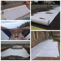 Wholesale High Construction Nonwoven Geotextile Fabric , Needle Punched Geotextile Weed Barrier from china suppliers
