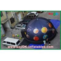 Wholesale 6m 210 D Oxford Cloth Portable Inflatable Planetarium Dome for Cinema with Full Printing from china suppliers