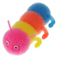 Wholesale rubber Four caterpillars luminous ball / colorful light-emitting toy random color from china suppliers