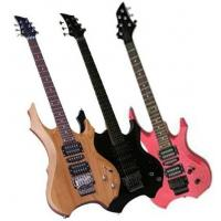 Wholesale 39inch Special / X Shape Black Electric Guitar OEM Promotion AG39-X4 from china suppliers