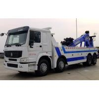 Wholesale Howo 8x4 371hp Wrecker Tow Truck Heavy Duty Type 4 Axles 12 Wheels 25 Tons from china suppliers