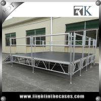 Wholesale Top quality professional wooden outdoor mobile stage for sale round portable dance pole stage from china suppliers