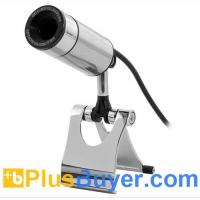 Wholesale Metal Bullet Design USB Webcam with 2 Megapixel Image Sensor - Plug & Play from china suppliers