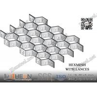 "Wholesale 3/4"" depth X 16gauge AISI304 Stainless Steel Hexmesh 36""X120"" 