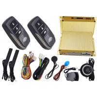 Wholesale Shock Sensor Alarm Trigger Remote Car Engine Start Stop System With RFID Smart Key Remotes from china suppliers