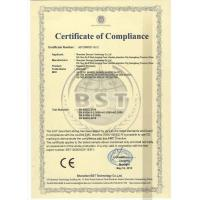 Shenzhen sinocam Technology Co.,LTD Certifications