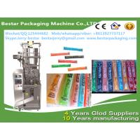 Quality Automatic popsicle ice lollipop ice rolly fully automatic vertical packing machine bestar packaging machine for sale