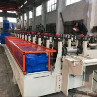 Wholesale Q235 Steel Shelving Rack Roll Forming Machine 18 Stations CE Certification from china suppliers