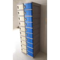 Quality Red 4 Tier Lockers With Keyless Lock , Staff Storage Lockers For Factory for sale