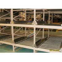 Wholesale High Density Light Grey Flow Rack Shelving , Industrial Pallet Racks Heavy Duty from china suppliers