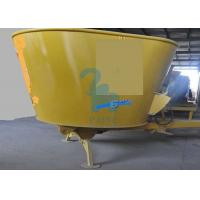 Wholesale 2115kgs Stationary Type TMR Ruminant Animals' Feed Mixer Machine For Cattle Husbandry from china suppliers