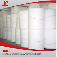 China pe foam sheet machine JC-EPE135 thickness 0.5-8mm, width 1-1.5m output 130kg/hr for sale