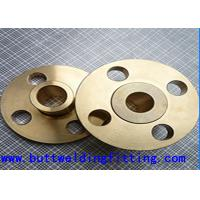 Wholesale Cu-Ni 90-10 Forged Steel Flanges , 150#-2500# 1-60 Inch Copper Nickel Flanges from china suppliers