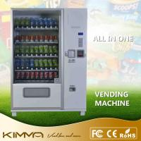 Wholesale Large Capacity Snack And Drink Vending Machine For Cold Bottled Drinks Water from china suppliers