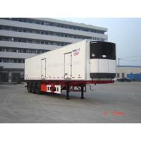 Wholesale Refrigerated Semi-trailer, Reefer Trailers, Reefer Vans, Vans Trailers, 3-Axles Refrigerated Trailer from china suppliers