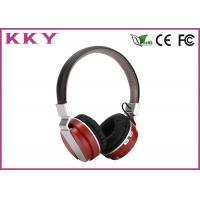 Wholesale Wireless Noise Cancelling Headphones , Black Wireless Headphones For Music from china suppliers