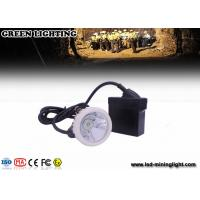 Wholesale Rechargeable Led Mining Light Msha Approved 22 Hours Lighting Time Cap Lamp with IP 67 Waterproof from china suppliers