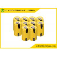 Wholesale 1.2V SC Type Nickel Cadmium Battery Sub C Nimh Batteries With Tabs Long Cycle Life from china suppliers