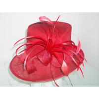 Buy cheap Ladies'Fashion sinamay hat from wholesalers