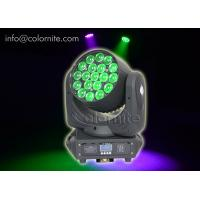 Quality Multi Color RGBW 4IN1 LED Zoom Moving Head For Stage Lighting for sale