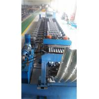 Wholesale Metal Roll Forming Machine , Galvanized Corrugated Steel Silo Forming Machine from china suppliers
