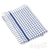 Wholesale 100% Cotton Kitchen Tea Towels , Azo Free Housework Kitchen Cleaning Cloth 50*70cm from china suppliers