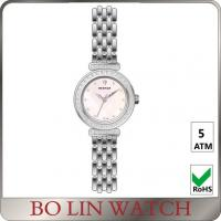 Wholesale Stone Index Rose Gold And Silver Ladies Stainless Steel Watches With Mesh Stap from china suppliers
