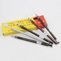 Wholesale Cosmetic Tattoo Accessories Permanent Makeup Eyebrow Pencil Wood from china suppliers