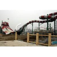 Wholesale Giant Boomerang Water Park Slides High Speed for Exciting Summer Entertainment Water Fun from china suppliers