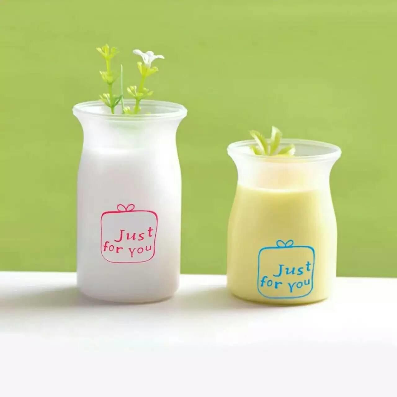 Wholesale Round Translucent Fruit  Pudding Mousse Cups PP Plastic Jar With Printing from china suppliers