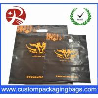 Wholesale Promotional Die Cut Handle Plastic Recycled Shopping Bags For Packing from china suppliers