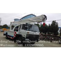 Wholesale high quality aerial working platform truck for sale from china suppliers