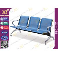 Wholesale Hospital Iron Structure Full Welding 3 Seater Waiting Chair With Cushion from china suppliers