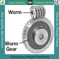 Wholesale Rosh/CE/ISO Spiral Bevel Gear Custom Worm And Worm Gear Set For Toys from china suppliers