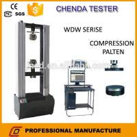 Buy cheap 100 KN Electronic Universal Testing Machine, Material Tensile Testing Machine from wholesalers