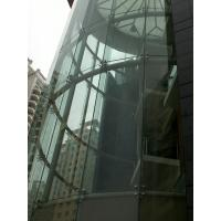 Wholesale Custom Curved Tempered Safety  Glass Curtain Wall from china suppliers