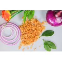 Wholesale Yellowish 30*30mm Delicious Crispy Fried Onion from china suppliers