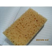 Wholesale Soft Baby Bath Foam , Hydrophilic Polyurethane Latex Free Sponge Bread Shaped from china suppliers