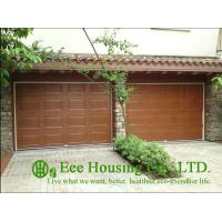Wholesale Galvanized steel Sectional remote-controlled garage door For Condos, Wood color from china suppliers